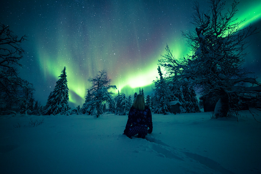 Northern Lights 3d Wallpaper Aurora Borealis And Deep Snow Sometimes You Have To Go