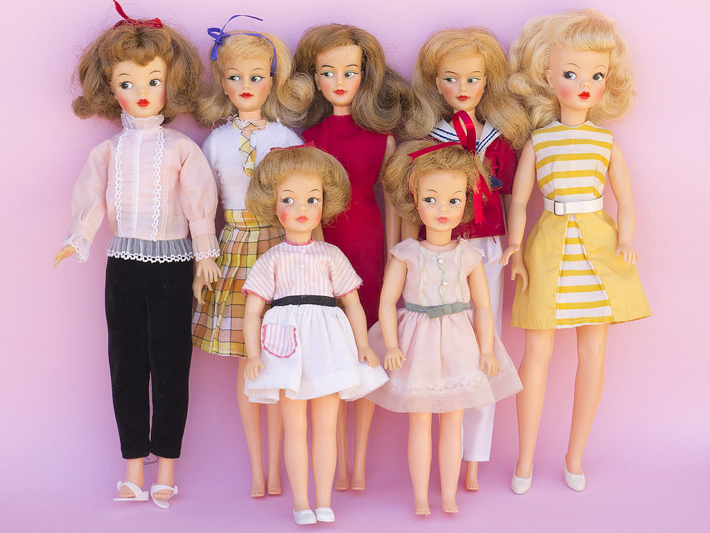 Doll Stroller Vintage Tammy Friends My Official Ideal Tammy Family