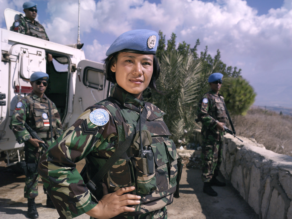 Israeli Army Girl Wallpaper Women Peacekeepers Of Unifil Sgt Lia Ricathalia Unifil