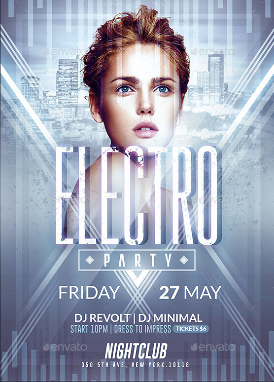 Electro Flyer Psd Flyer Templates Created By @RomeCreation\u2026 Flickr - electro flyer