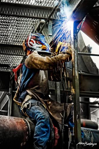 Awesome 3d Art Wallpaper Soldador Welder Soldador Americano Eagle Welder
