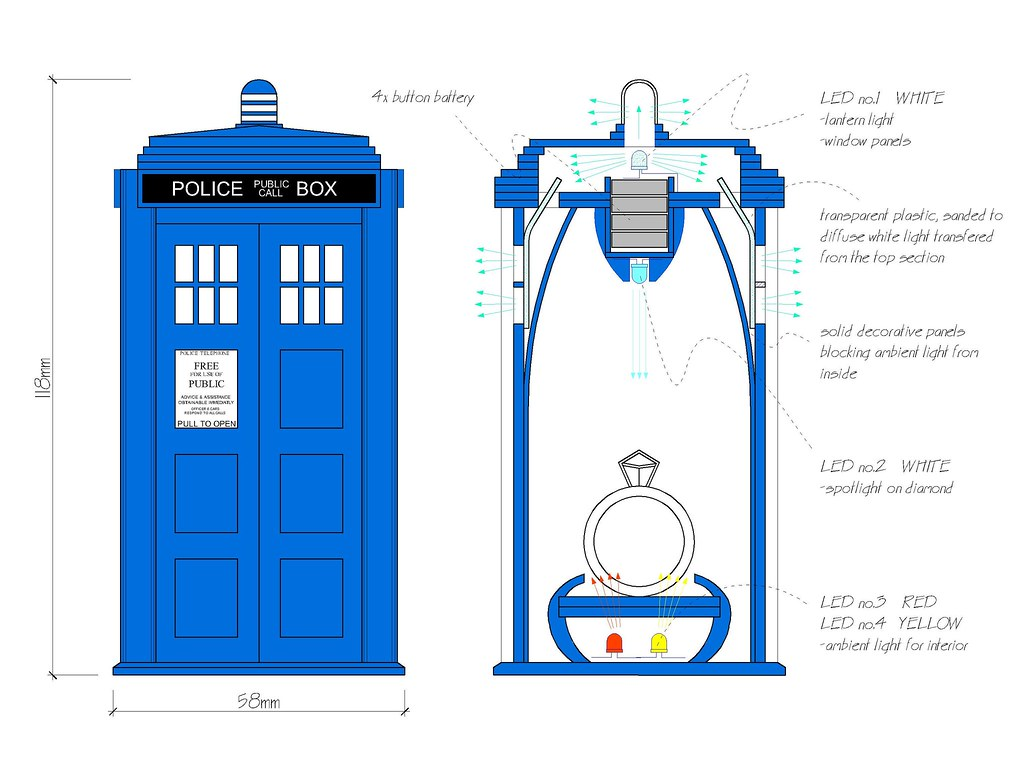 Custom Wallpaper 3d Themodelmaker Tardis Section Through Tardis Custom