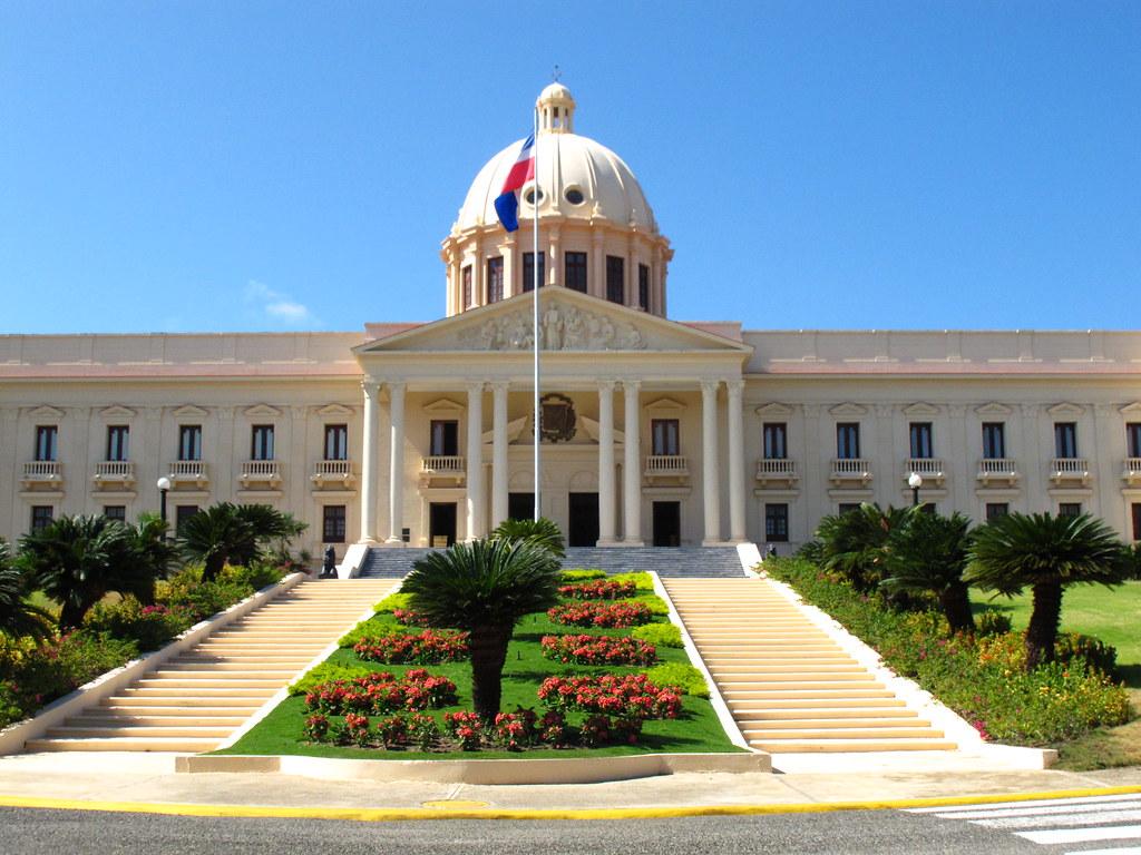 White Car Wallpaper The National Palace Santo Domingo Dominican Republic