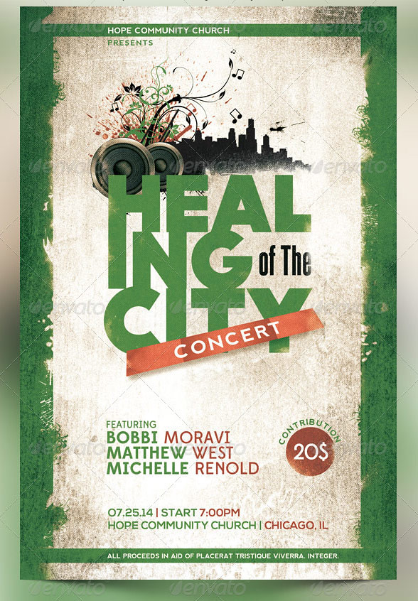 Benefit Concert Church Flyer Template The Benefit Concert \u2026 Flickr - Benefit Flyer Template