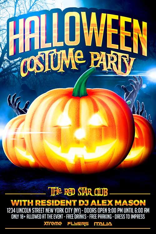 Halloween Costume Party Flyer Template Halloween Costume P\u2026 Flickr
