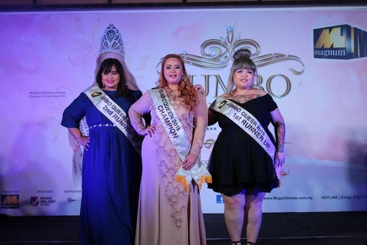 Jumbo Queen 2015 Winners
