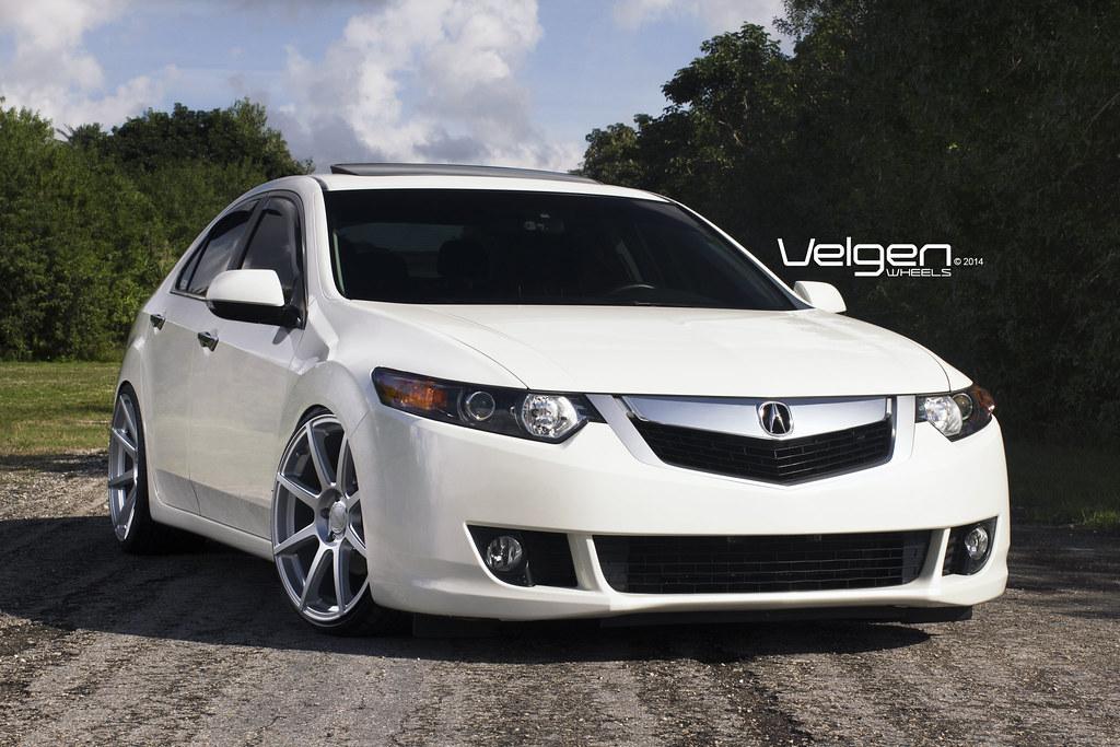 Black White Wallpaper Acura Tsx V6 Velgen Wheels Vmb8 Matte Silver Acura Tsx