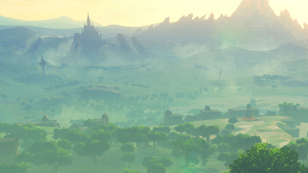 Beautiful 3d Wallpaper For Mobile Legend Of Zelda Breath Of The Wild Gameplay Trailer Shows