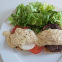 Recipe: Bone Marrow Burgers with Buttermilk Béchamel