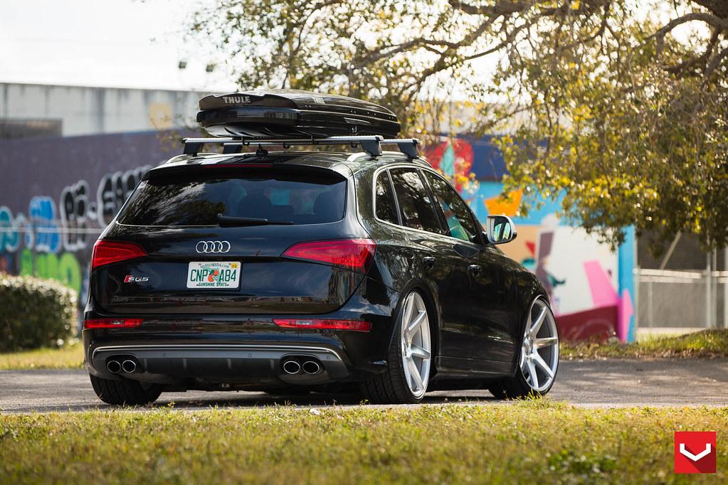 3d Roof Wallpaper Audi Sq5 On Accuair 22 Quot Vossen Cv7 Concave Wheels 169 Vo