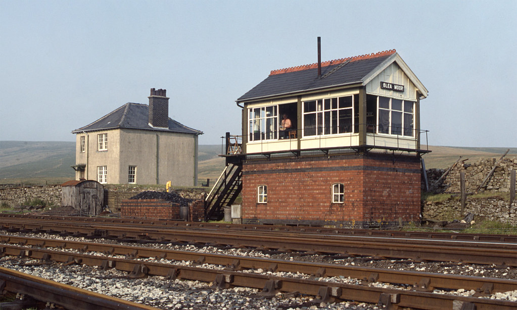 Blea Moor Signal Box The Signal Box And The Last Of The