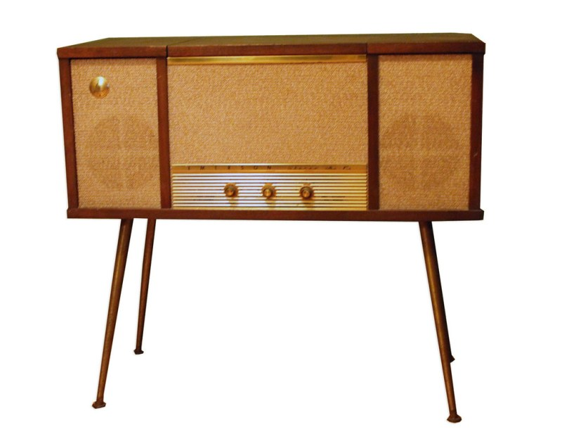 Large Of Record Player Console
