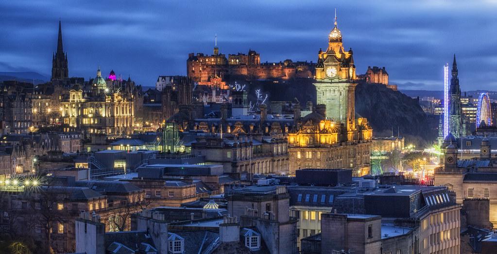 Wallpaper Hp 3d Edinburgh Castle And City View John Mcsporran Flickr