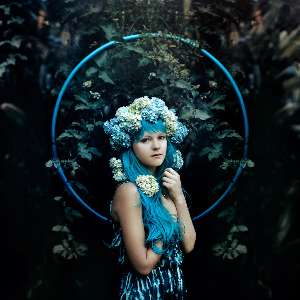 Girl With Camera Hd Wallpaper Hydrangea Facebook Featuring The Goddess That Is