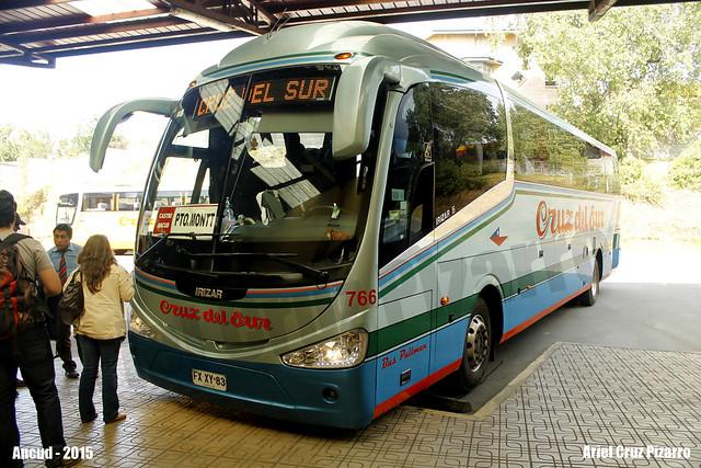 Cruz del Sur - Ancud (Chile) - Irizar I6 / Mercedes Benz (FXXY83)