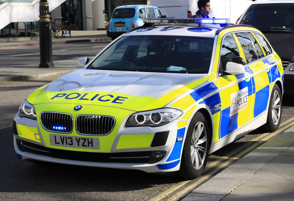 Police Car Lights Wallpaper City Of London Police Bmw 530d Roads Policing Unit Anpr