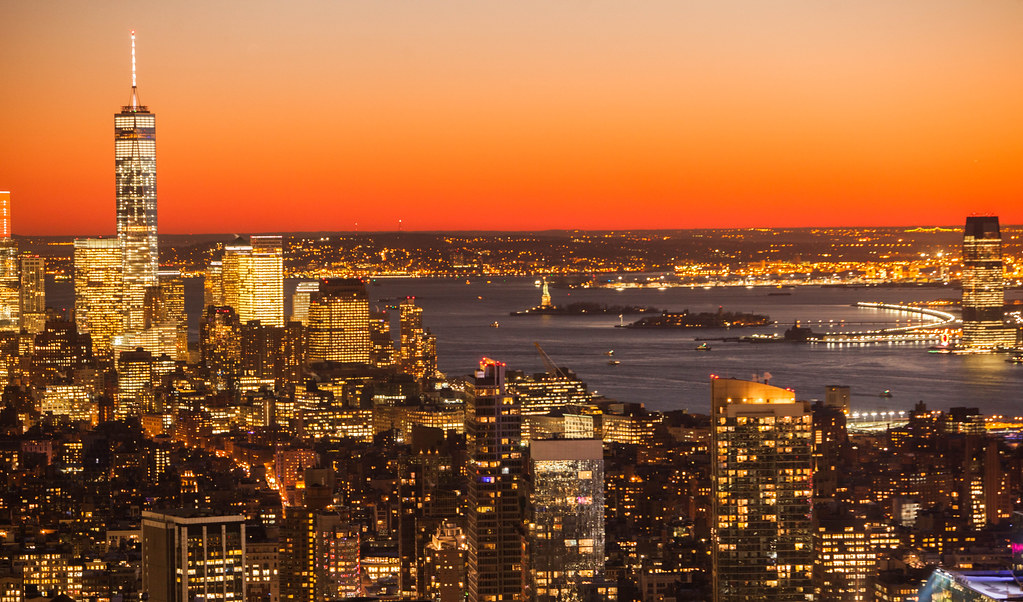 Free Beautiful Desktop Wallpapers For The Fall New York City Skyline Winter Sunset Anthony Quintano