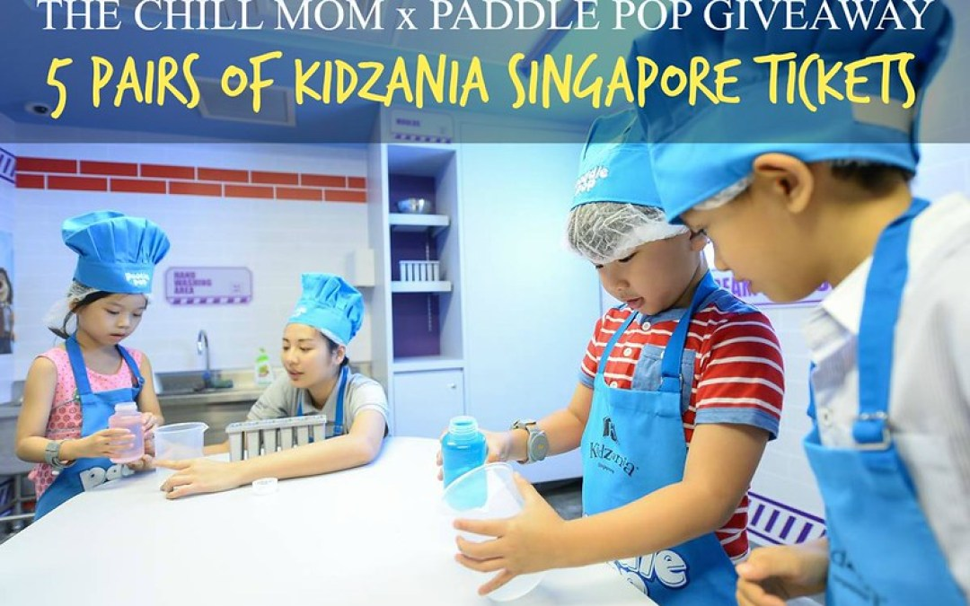 GIVEAWAY: 5 Pairs of KidZania Entry Tickets