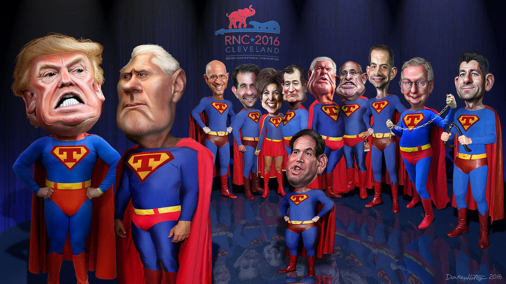 D 3d Wallpaper Super Trumps Of The Rnc Even Little Marco Joined The Te