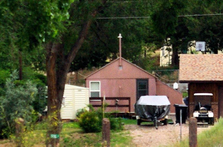 Former Viersen cabin at Lemoyne, Nebraska.