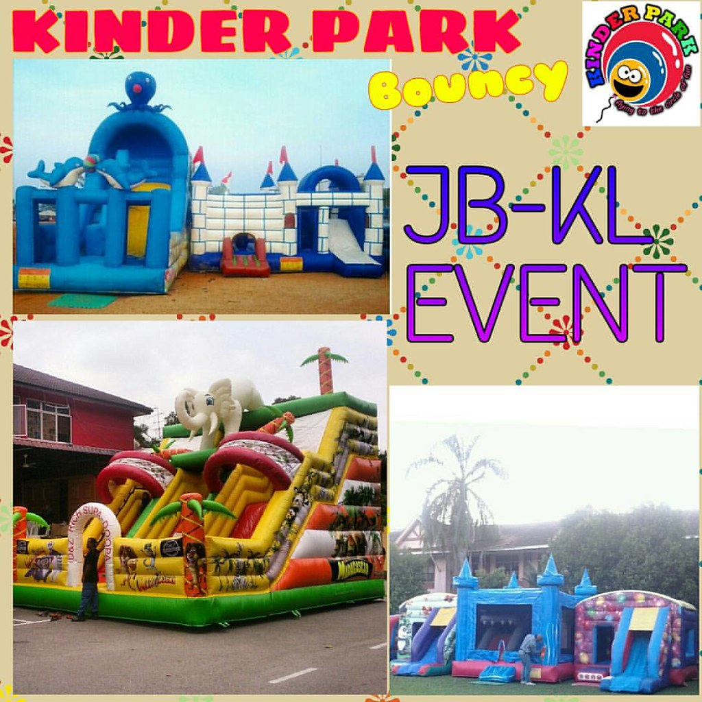 Outdoor Kinder Bouncy Collection By Kinder Park Enhance Happiness At Your Flickr