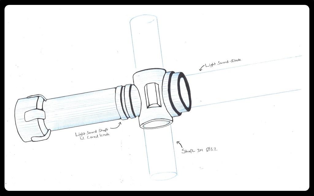 KYLO REN LIGHTSABER DESIGN - Auto Electrical Wiring Diagram