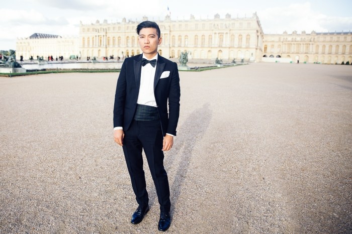 Fashion blogger Bryanboy in Versailles, France for Martell Tricentenaire 300 Year Anniversary