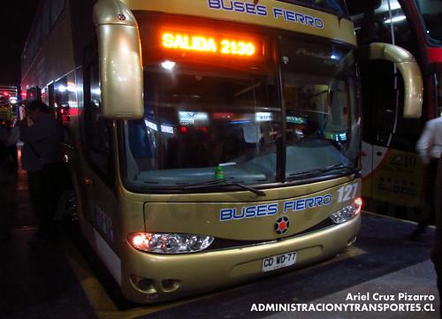Buses Fierro - Santiago - Marcopolo Paradiso 1800 DD / Scania (CDWD77)