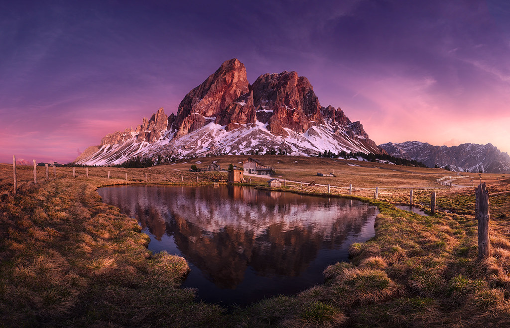 Free Hd Wallpaper Fall Sass De Putia This Was The Highlight After 150km Of