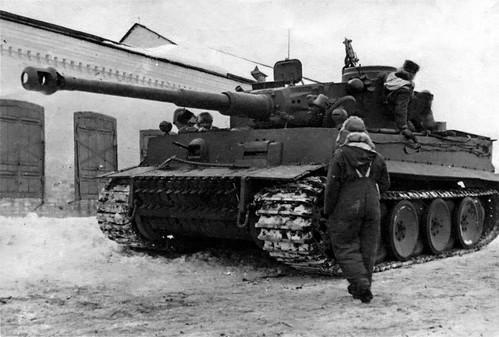 Panzerkampfwagen Vi Tiger H 88 Cm Ausf H1 Sdkfz 1