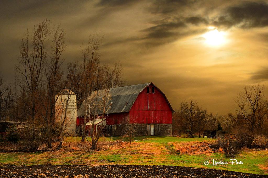 Rustic Fall Wallpaper Red Barn In Spring 66 Michael Linnihan Flickr