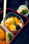 Restaurant Review: Yebisu Izakaya, Sydney CBD. Coconut jelly, cereal and yoghurt (part of Hokkaido Gozen Bento)