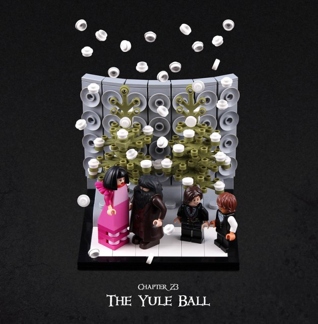 Harry Potter and the Goblet of Fire Chapter 23 - The Yule Ball