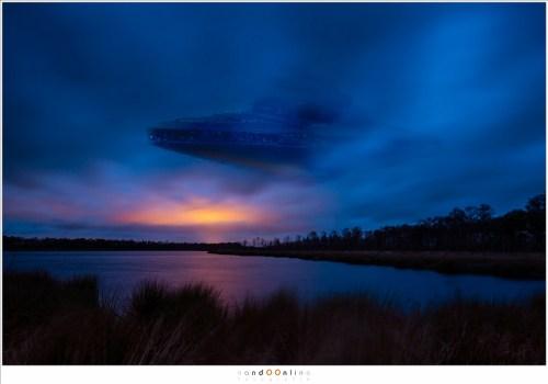 Als het dan toch geen meteoor, satelliet of vliegtuig...