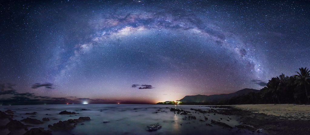 Best Wallpapers For Iphone X App The Milky Way Over The Coral Sea This Image Was Taken