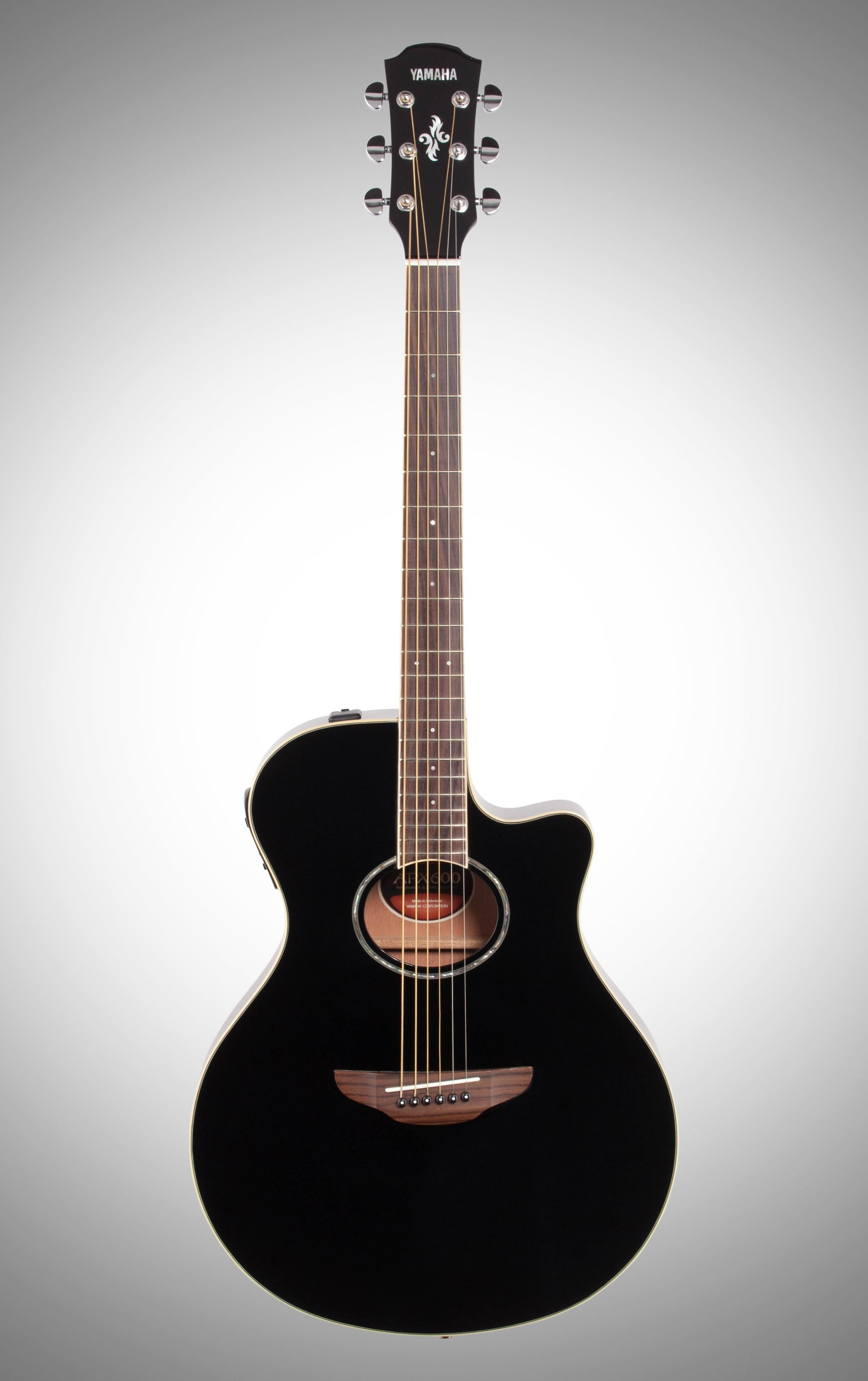 Acoustic Yamaha Yamaha Apx 600 Acoustic Electric Guitar Black