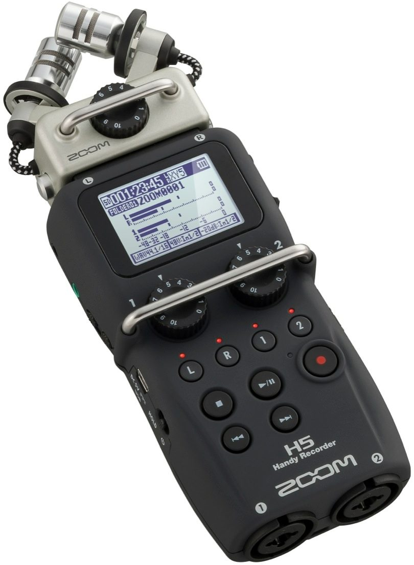 Zoom H6 Recorder Zoom H5 Handheld Digital Recorder Zzounds