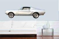 Muscle Car 1967 Shelby Mustang GT 350 Wall Art/ Vinyl ...