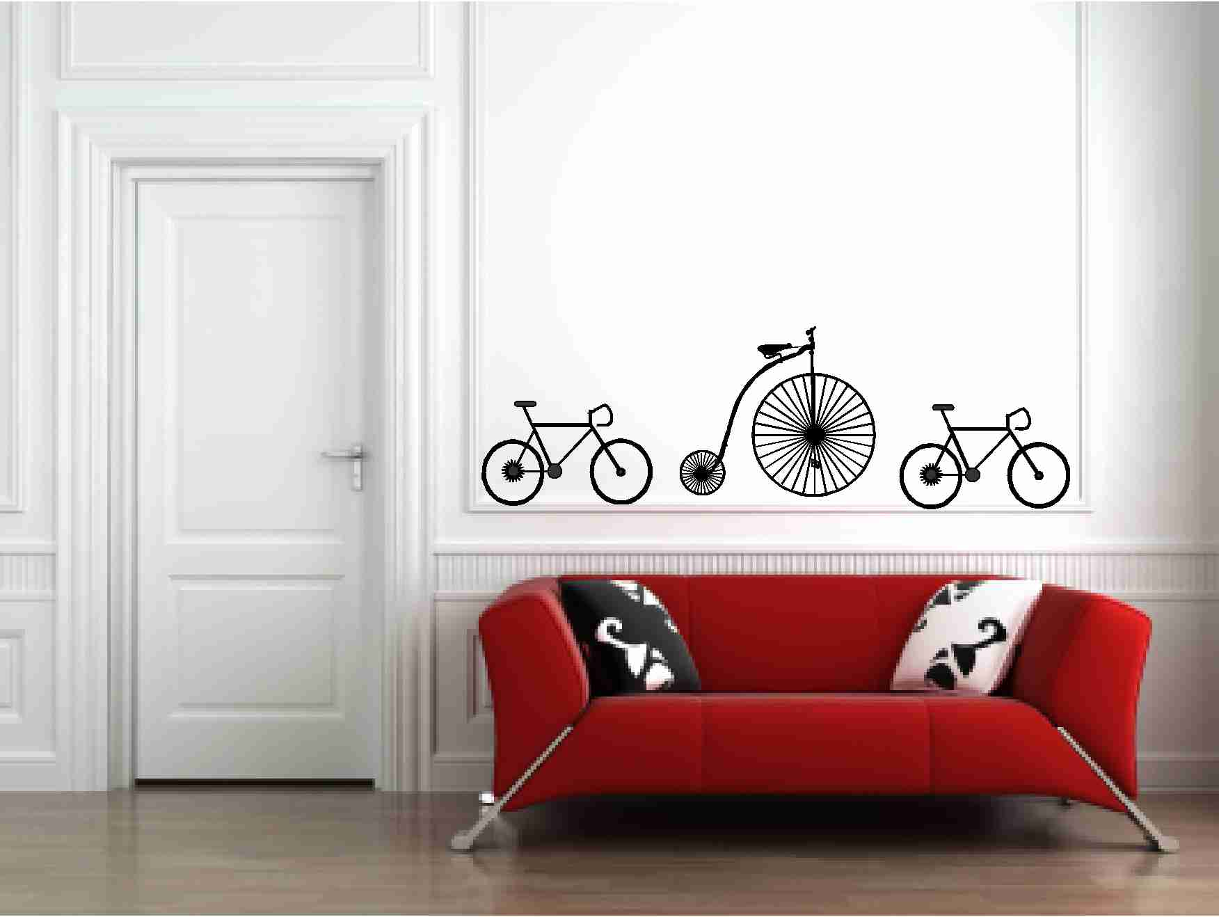 Vinyl Wall Decal Bicycles Wall Vinyl Decals Sticker On Luulla