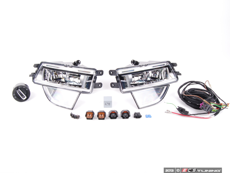 thread fog light wiring