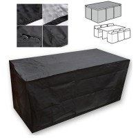 WATERPROOF RECTANGULAR GARDEN PATIO FURNITURE COVERS 6 ...
