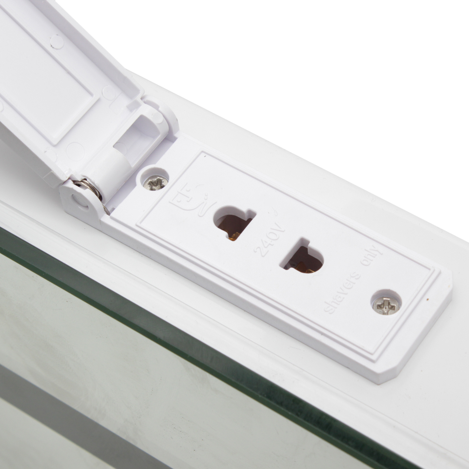 Bathroom Mirror Lights With Shaver Socket Waterproof Led Bathroom Mirror With Shaver Socket Light