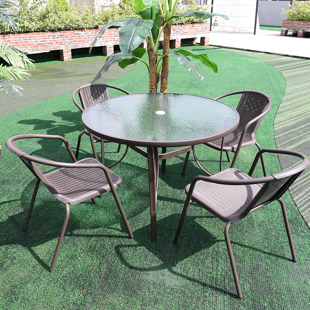 Garden Furniture Set Table And Chairs Outdoor Patio Conservatory Balcony Bistro Ebay