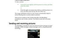BlackBerry Storm User Guide - Image 13 of 17