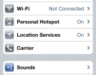 Apple iPhone iOS 4.3 Personal Hotspot - Image 1 of 3