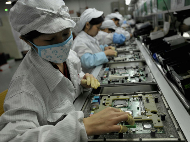 Foxconn workers
