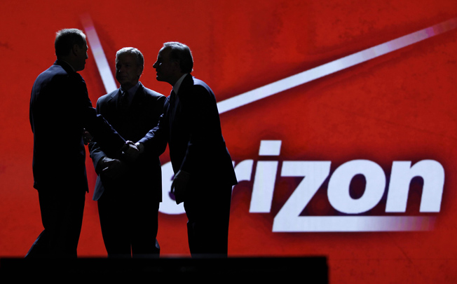 Verizon CEO McAdam Unlimited Data Plans
