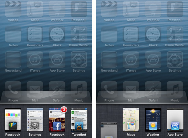 Auxo iOS Multitasking App Switcher