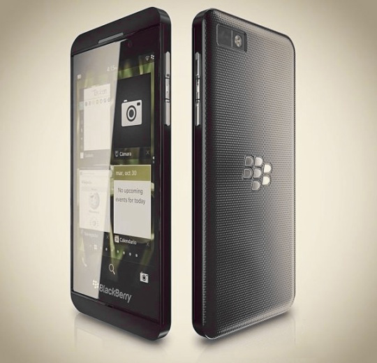 BlackBerry Z10 Specs Rumor
