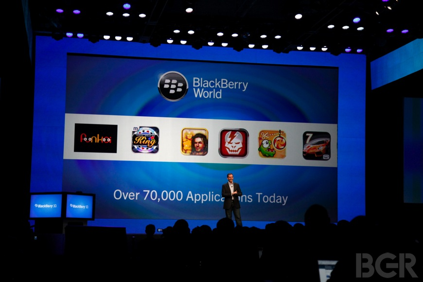 BlackBerry 10 Mobile Apps